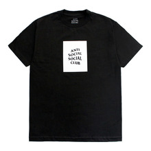 [Anti Social Social Club] CLUB TEE - BLACK