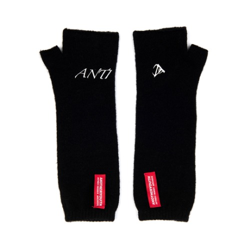 [ANOTHERYOUTH] logo warmer - black