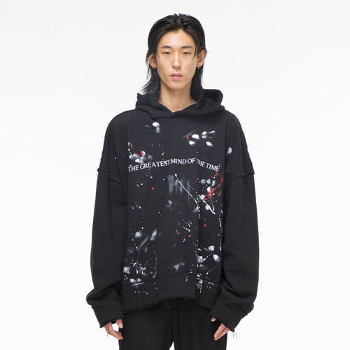 [THEGREATEST] GT1819W 03 Painting Hoody (black)