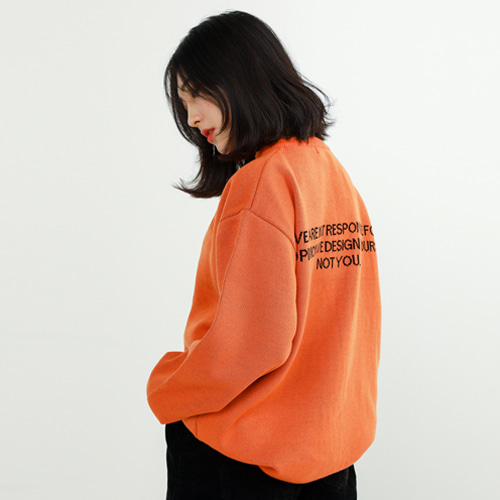[매드마르스]MADMARS LETTERING KINT_ORANGE