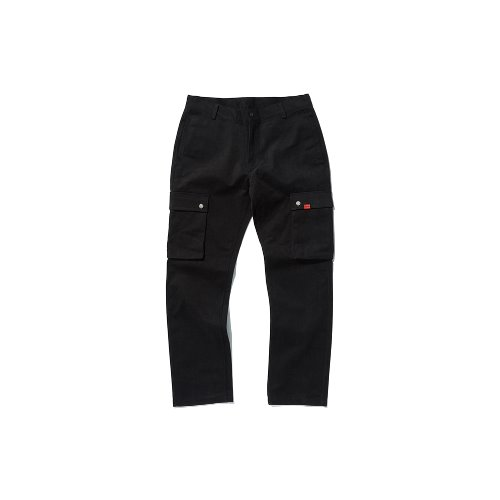 [OVERR] TOME.5 BLACK CARGO PANTS