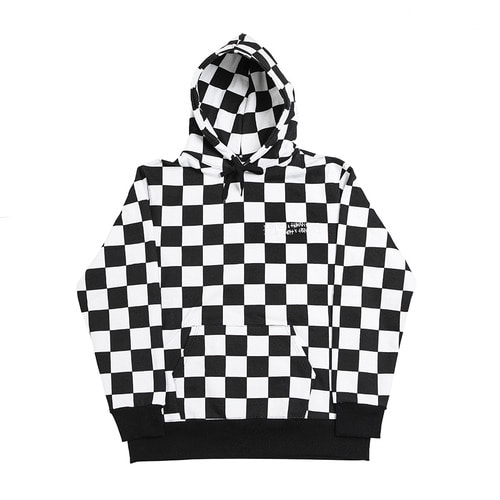 [LIMITIED EDITION] Basic Logo Hoodie - Black/White