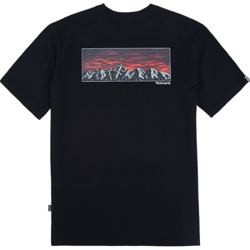 [NOT4NERD] The Evening T-Shirts - Black