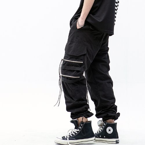 [마에다류토] 4 ZIPPER STRING JOGGER PANTS