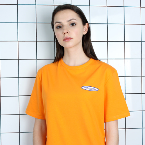 [TOi] TSW LOGO SHORT T-SHIRT ORANGE