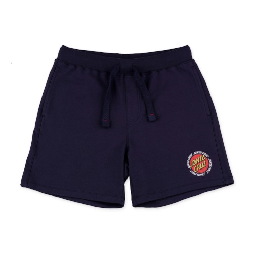 [SANTA CRUZ]  Ringed dot ala shorts - Navy