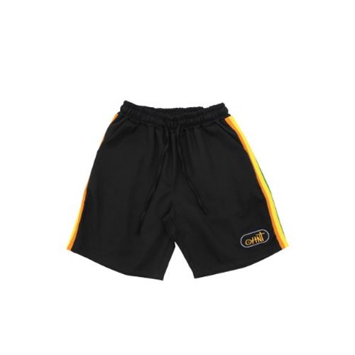 [ONEHUNNNIT] 19 SUMMER SEASON  TRIP SHORT PANTS - BLACK
