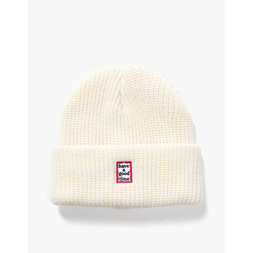 [have a good time] Mini Mini Frame Beanie - Cream
