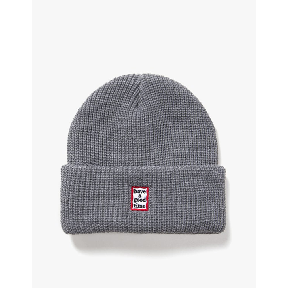 [have a good time] Mini Mini Frame Beanie - Grey