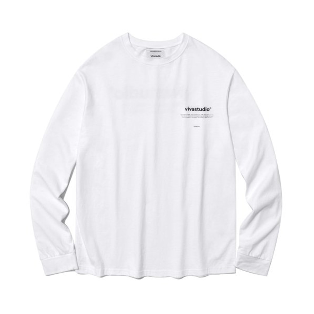 [비바스튜디오] NEW BINAURAL LONG SLEEVE IA [WHITE]