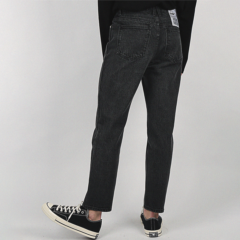 [compàgno] 14OZ Denim Standard light black
