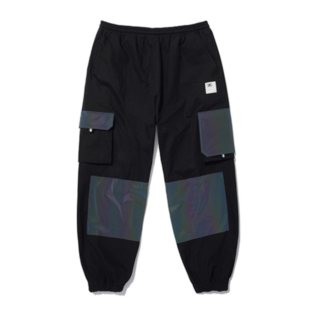 [AAC] Hologram Utility Cago Pants -black