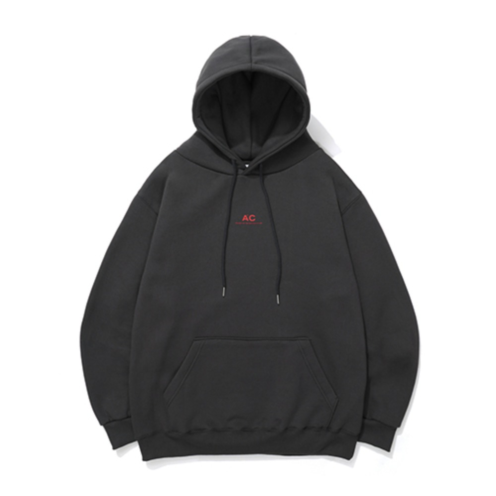 [AAC] HIT System Hoodie -dark gray