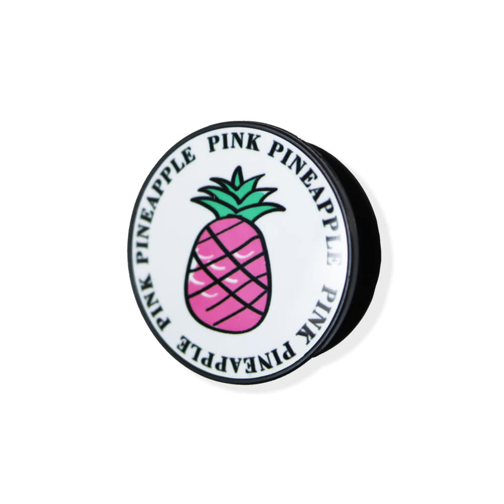 [PINK PINEAPPLE] GRIP TOK_WHITE