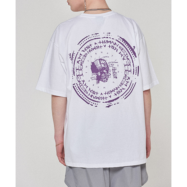 Back Stamped Tee - WHITE