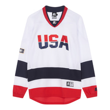 [STARTER] USA Team Jersey L/S - White