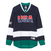 [STARTER] USA Team Jersey L/S - Navy