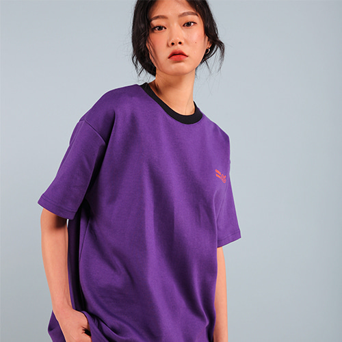 [페퍼시즈닝] BUMPS T-SHIRT / PURPLE