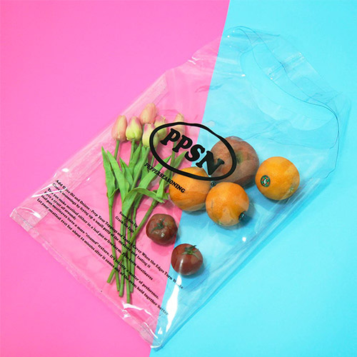 [페퍼시즈닝] PPSN PVC SHOPPER BAG