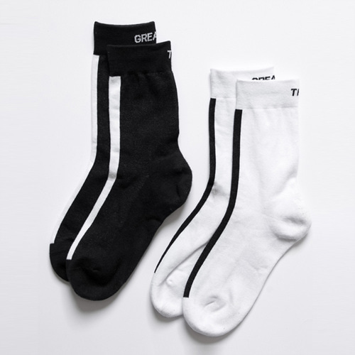 [THE GREATEST] GT 18SUMMER 14 LINE SOCKS