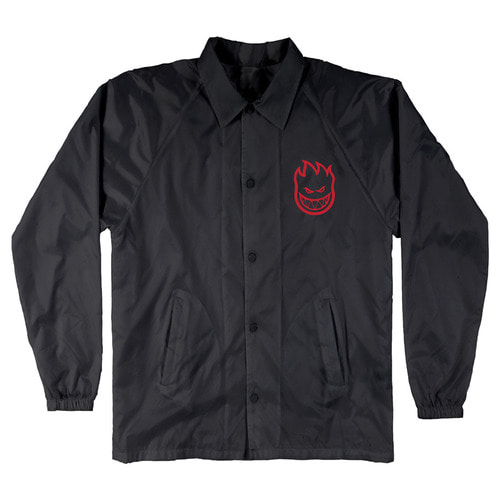[Spitfire] BIGHEAD DOUBLE COACH JACKET - BLACK/RED