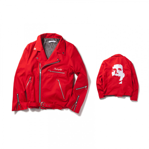 [KING]Shadowplay Rider Jacket-Red