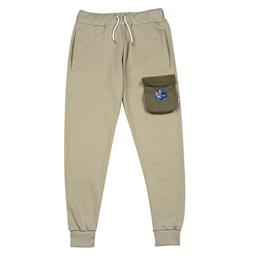 [하운드빌] 3D POCKET sweeat pant khaki