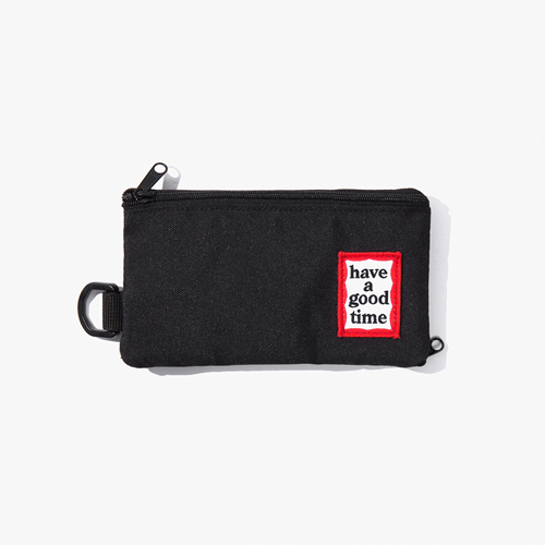 [Have a good time] FRAME POUCH - BLACK