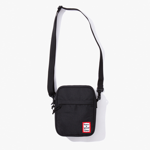 [Have a good time] FRAME SHOULDER BAG - BLACK