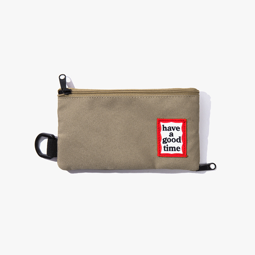 [Have a good time] FRAME POUCH - SAND