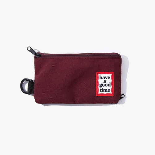 [Have a good time] FRAME POUCH - WINE