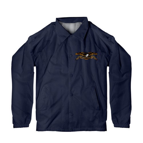 [Anti Hero] STOCK EAGLE COACHES JACKET - CLASSIC NAVY