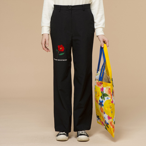 [THE GREATEST] GTXMMD 03 Camellia Pants BK