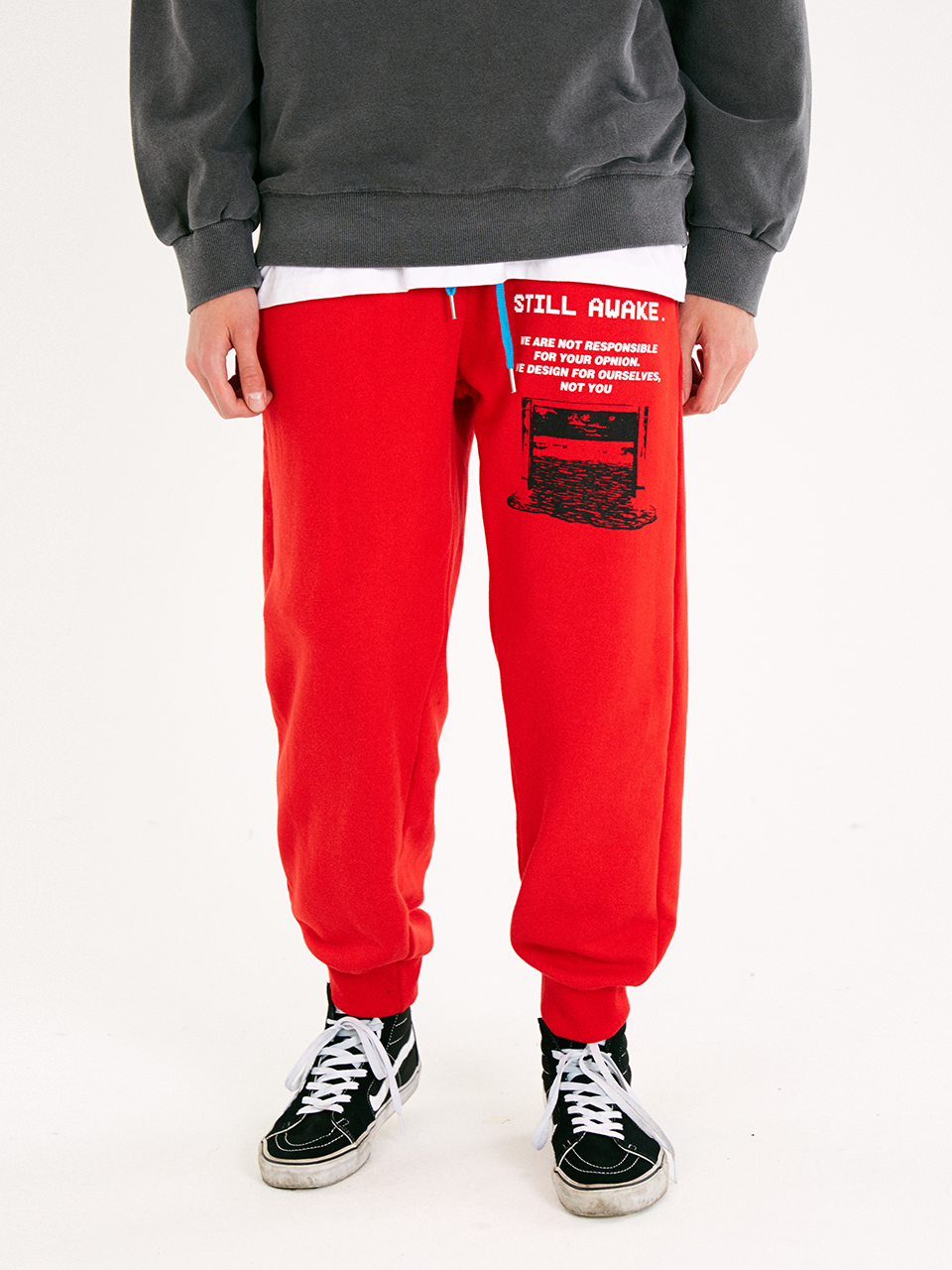[매드마르스]RECORDED JOGGER PANTS_RED