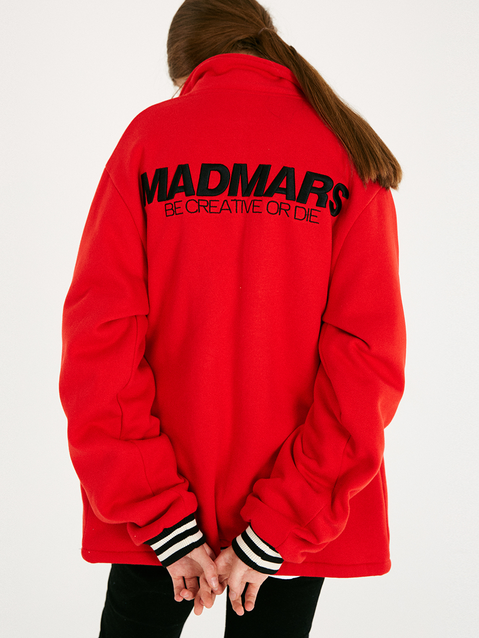 [매드마르스]BOLD COACH JACKET_RED