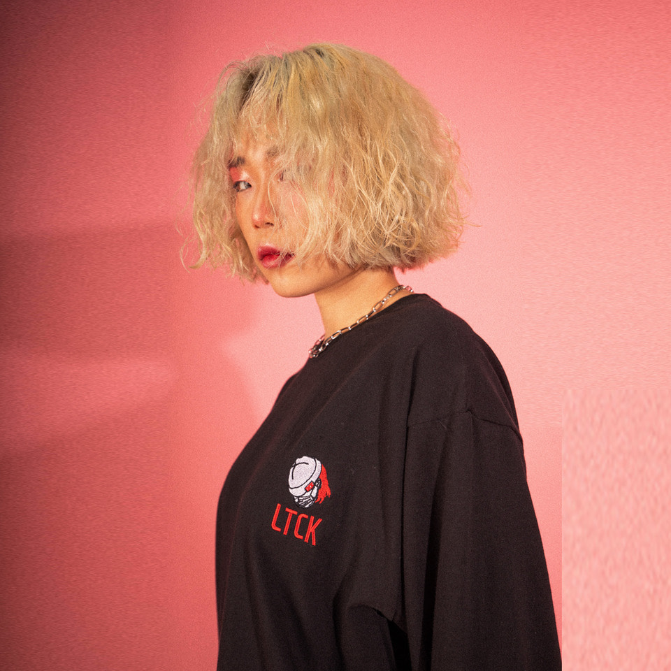 [LTCK] LTCK Logo Long Sleeve - BLACK