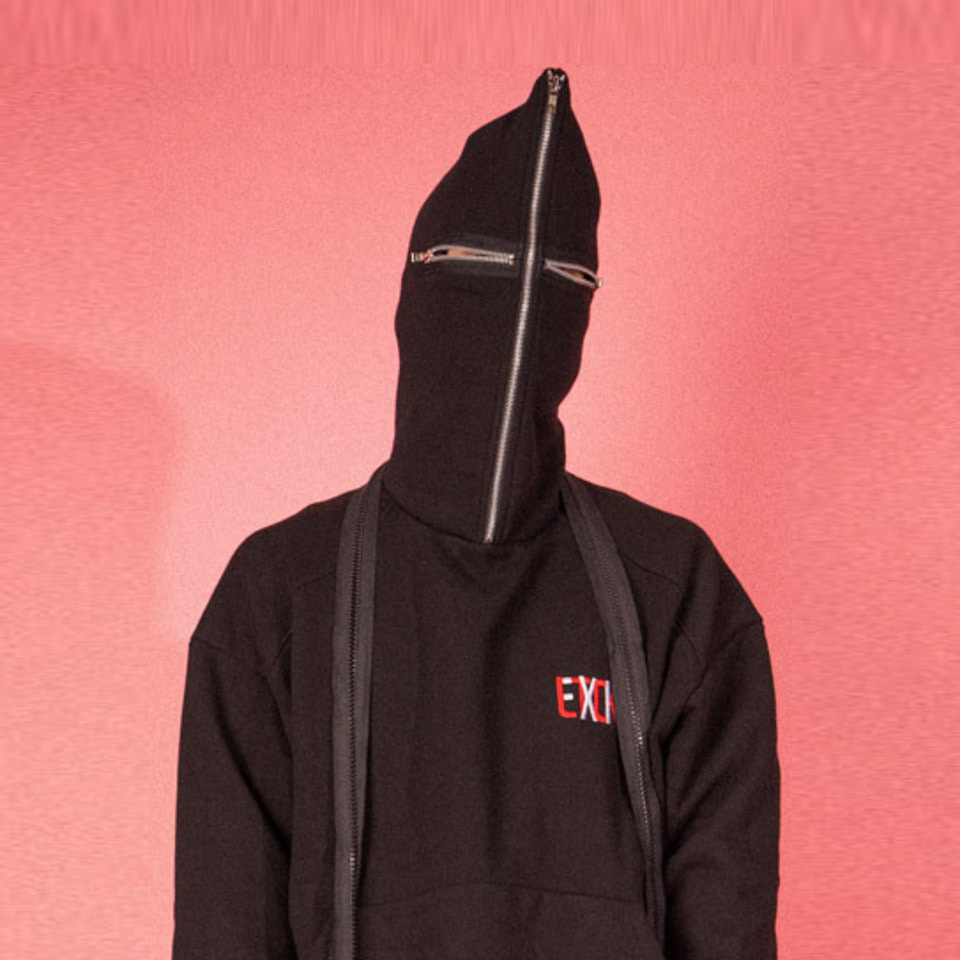 [LTCK] Zipper Eye Hoodie - BLACK