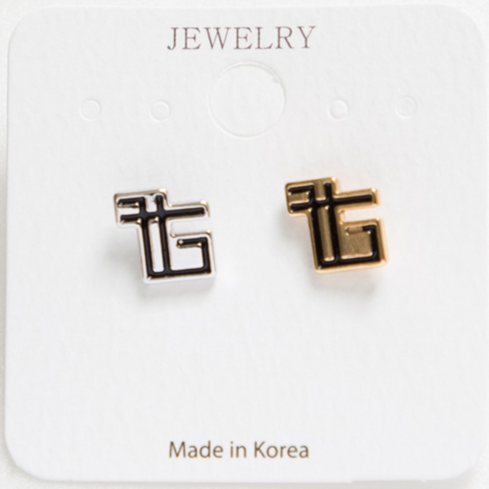 [THE GREATEST] GT18FW19 EFFECT EARRING