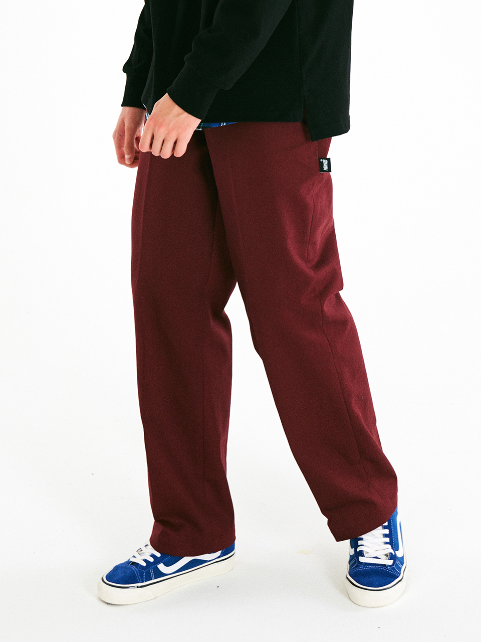 [매드마르스]PERFECT WIDE COTTON PANTS_WINE