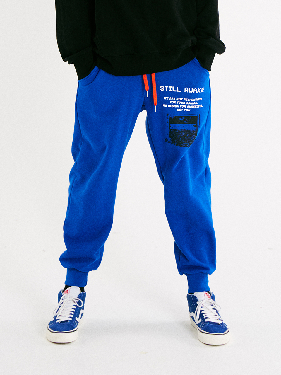 [매드마르스]RECORDED JOGGER PANTS_BLUE