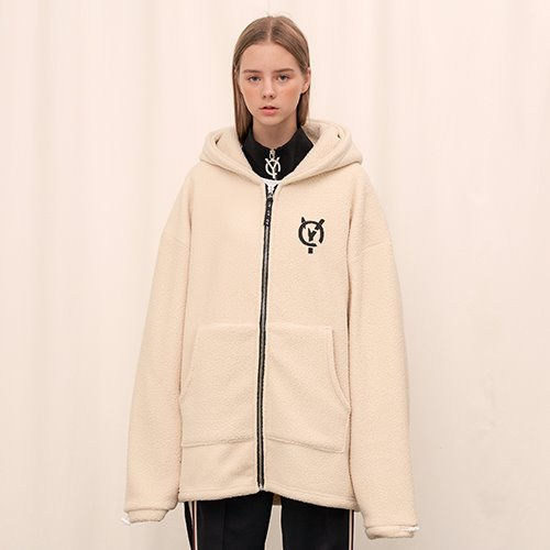 [OY] FLEECE HOOD ZIP - IV