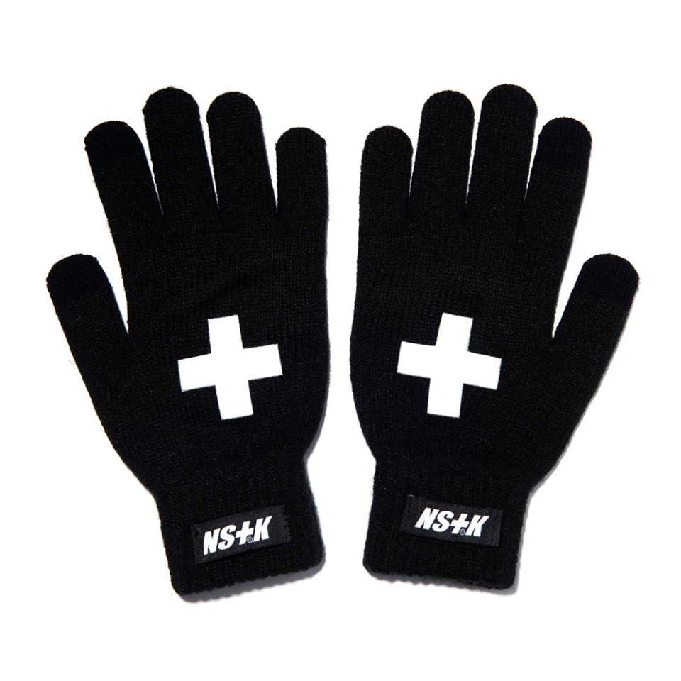 [NSTK] NSTK CROSS GLOVES BLACK (NK18A101H)
