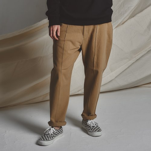 [스테이지 네임]STG Pintuck Wide Pants_BG