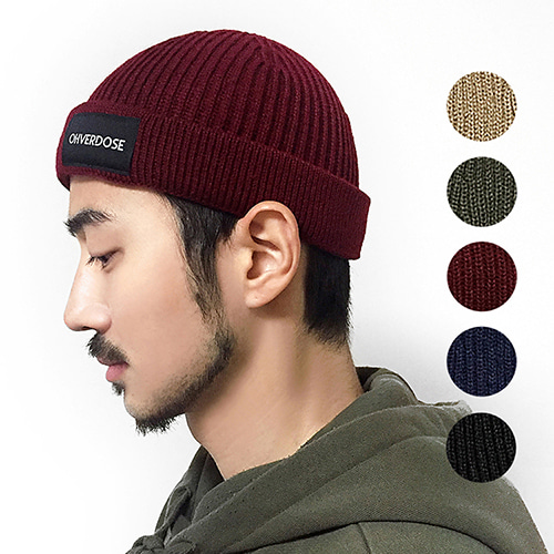 [OHVERDOSE][세트상품] OVDS LOGO WATCH CAP