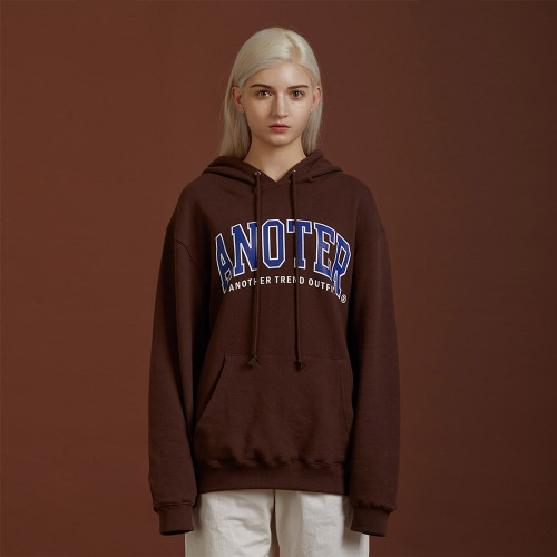 [ATO] A NOTER HOODY - brown