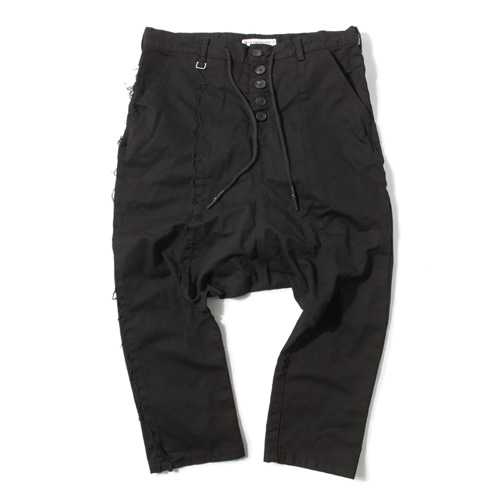 [KING] Sarouel Pants -Black