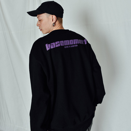 [BASEMOMENT] Express Heavy MTM Black