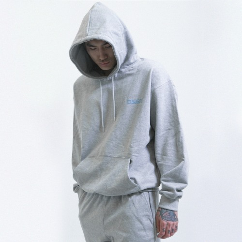 [OBJECT] HYPERLINKING HOODIE - GRAY
