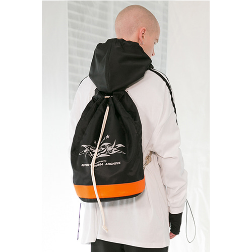 [ANOTHERYOUTH] duffel backpack - black