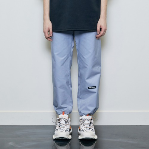 [D.PRIQUE] String Jogger Pants Blue